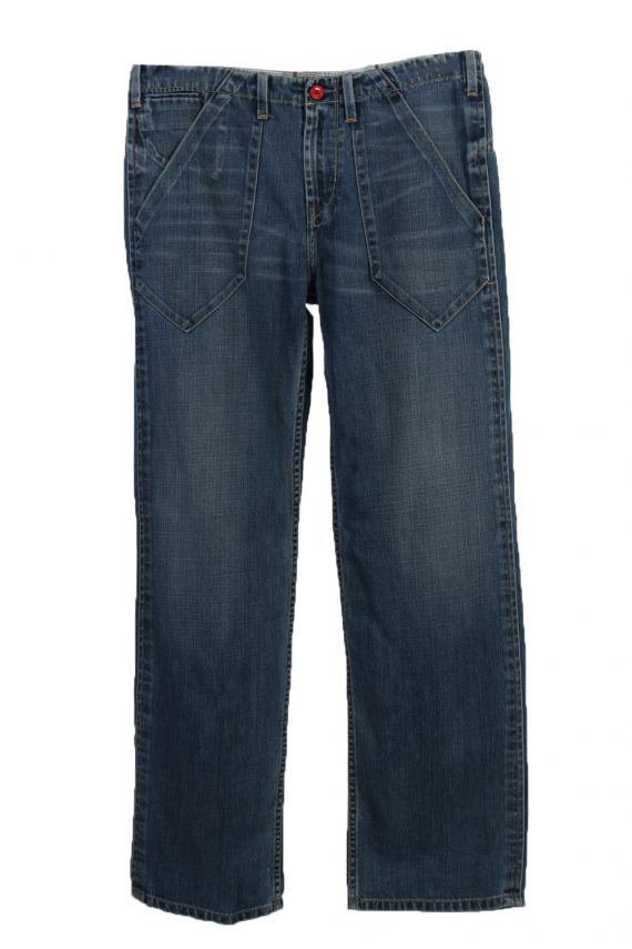 Vintage Levi's Ripped Faded Unisex Jeans W36 L32 Blue J3488-0