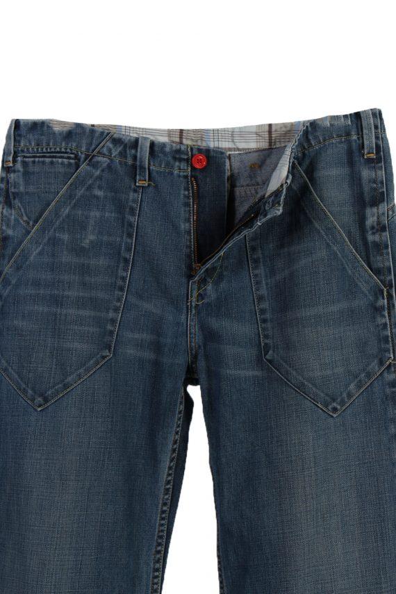 Vintage Levi's Ripped Faded Unisex Jeans W36 L32 Blue J3488-87301