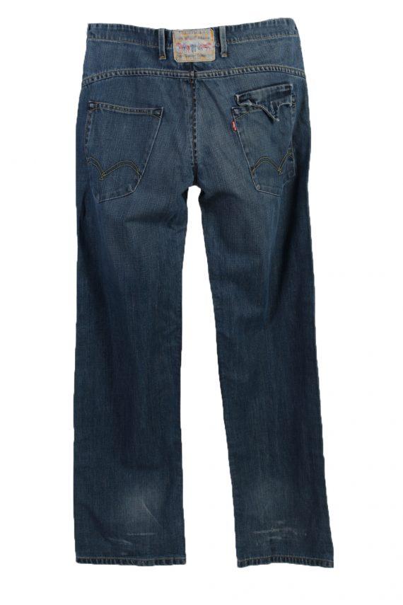 Vintage Levi's Ripped Faded Unisex Jeans W36 L32 Blue J3488-87302