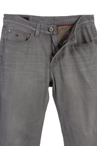 Vintage Tommy Hilfiger Ripped Faded Unisex Jeans W32 L30 Gray J3492-87313