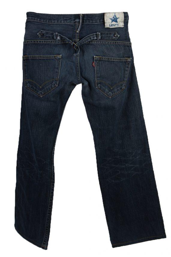 Vintage Levi's Ripped Faded Unisex Jeans W32 L30 Blue J3514-87936