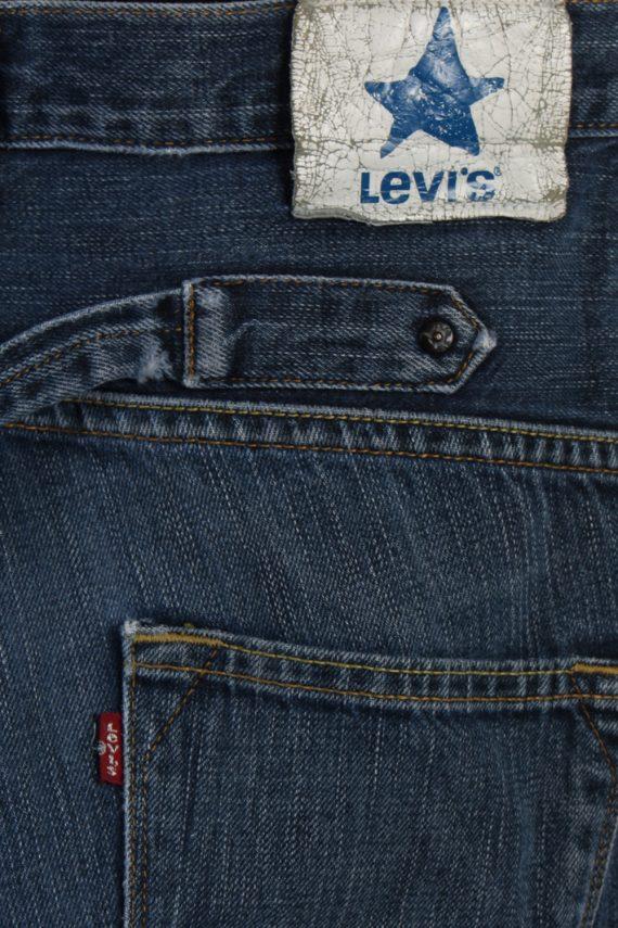 Vintage Levi's Ripped Faded Unisex Jeans W32 L30 Blue J3514-87937