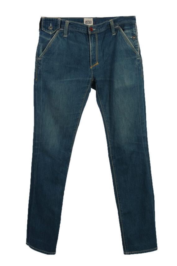 Vintage Levi's 01 Ripped Faded Unisex Jeans W33 L34 Blue J3527-0