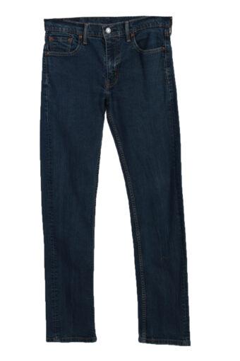 Levi's 513 Skinny Leg Ripped Faded Unisex Jeans W30 L34