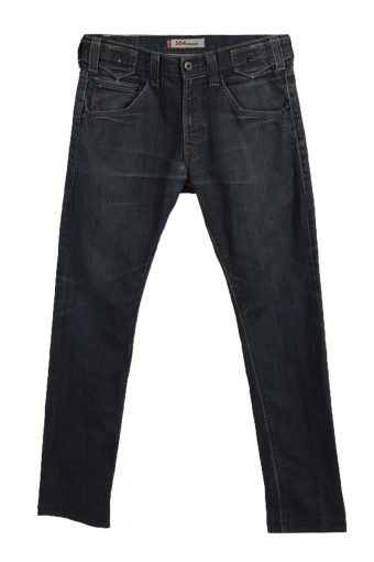Levi's 504 Straight Ripped Faded Unisex Jeans W32 L33