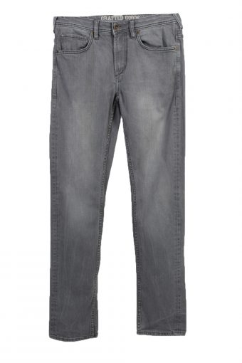 C&A Crafted Goods Slim Leg Mens Jeans W32 L34