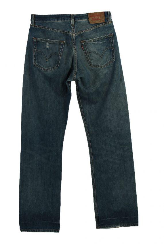 Vintage Levi's Ripped Faded Unisex Jeans W32 L35 Blue J3572-88626