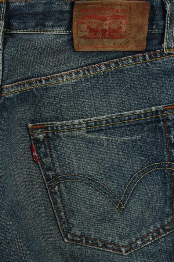 Vintage Levi's Ripped Faded Unisex Jeans W32 L35 Blue J3572-88627