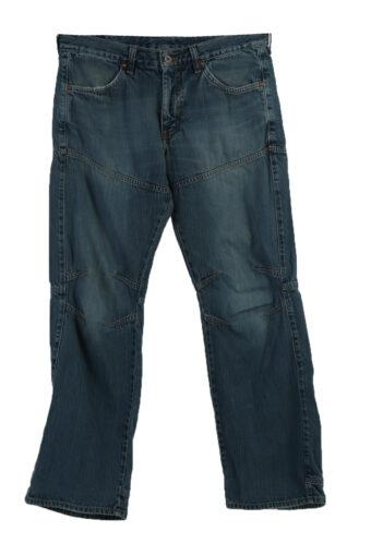 Mustang Worker Ripped Denim Jeans Men W32 L32