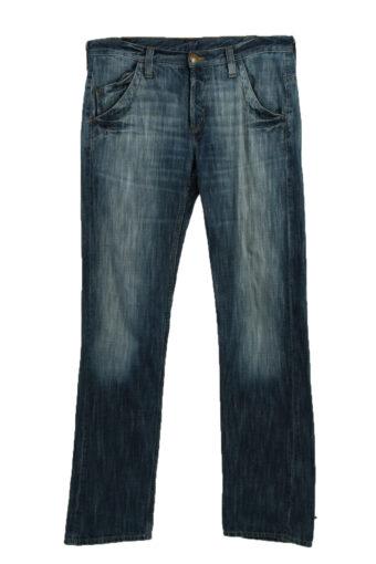 Lee Buggy Denim Jeans Mens W33 L36