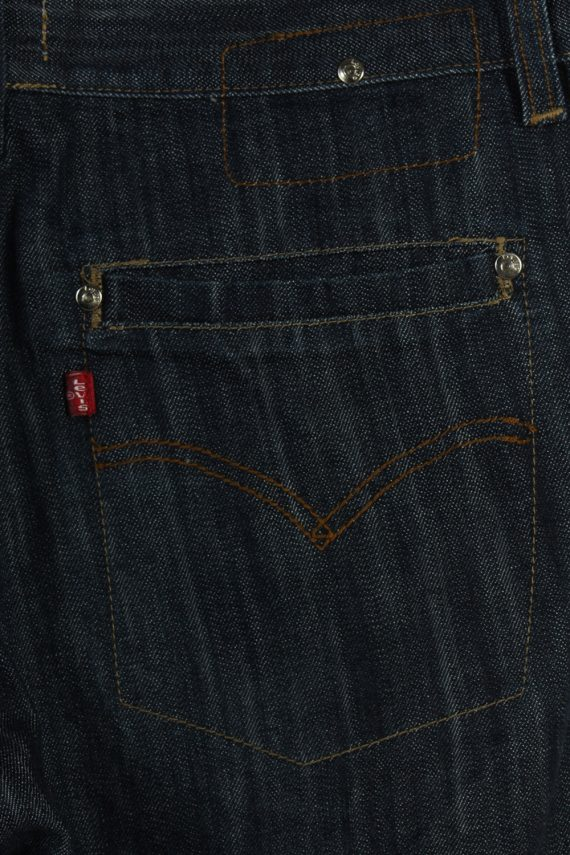 Vintage Levi's Engeneered Jeans Ripped Faded Unisex Jeans W34 L33 Navy J3597-88727