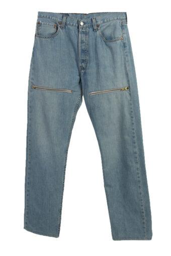 Levi's 501 Details Denim Jeans Mens W34 L34