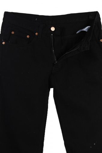 Vintage Lee Faded Unisex Jeans W30 L31 Black J3642-89467