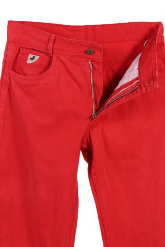 Vintage Krahe - Jeans Collectiuon Faded Women Jeans W30 L32 Red J3644-89475