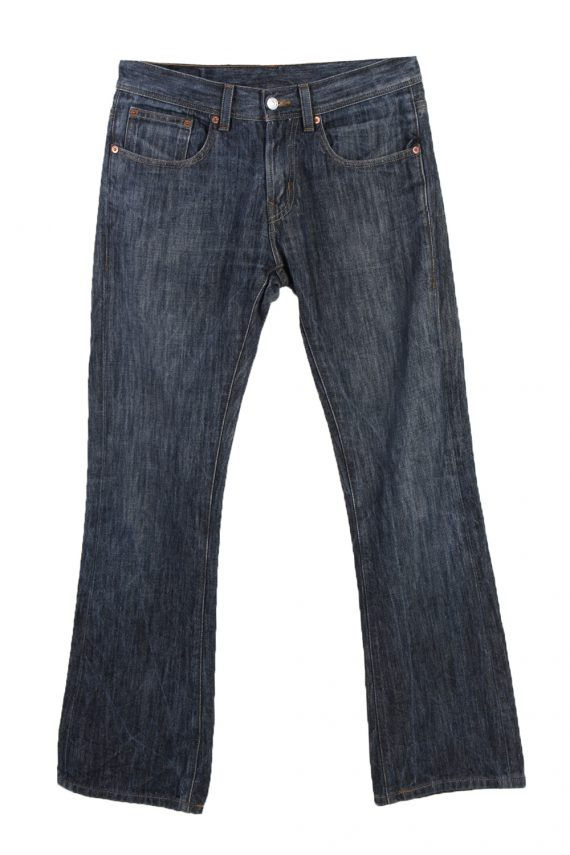 Vintage Levi's E Faded Women Jeans W31 L32 Navy J3646-0