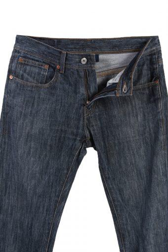 Vintage Levi's E Faded Women Jeans W31 L32 Navy J3646-89483