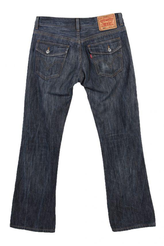 Vintage Levi's E Faded Women Jeans W31 L32 Navy J3646-89484