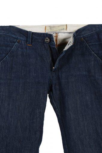 Vintage Wrangler Iris Faded Women Jeans W28 L34 Navy J3648-89491