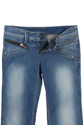 Vintage Levi's Faded Women Jeans W29 L34 Blue J3658-89531