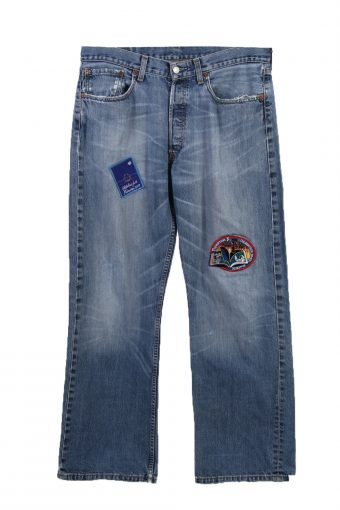 Levi's Designer Remake Faded Unisex Jeans 80's 90's W34 L32