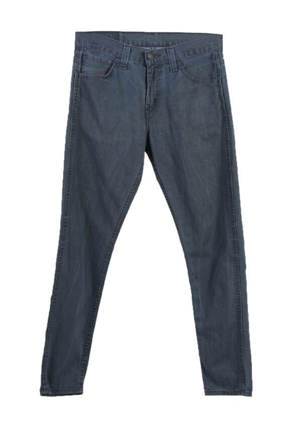Vintage Levi's 520 Slim Fit Faded Women Jeans W29 L39 Blue J3703-0