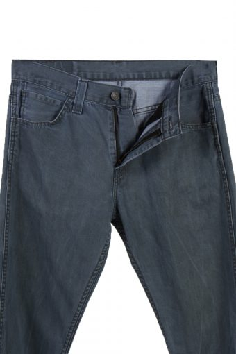 Vintage Levi's 520 Slim Fit Faded Women Jeans W29 L39 Blue J3703-89711