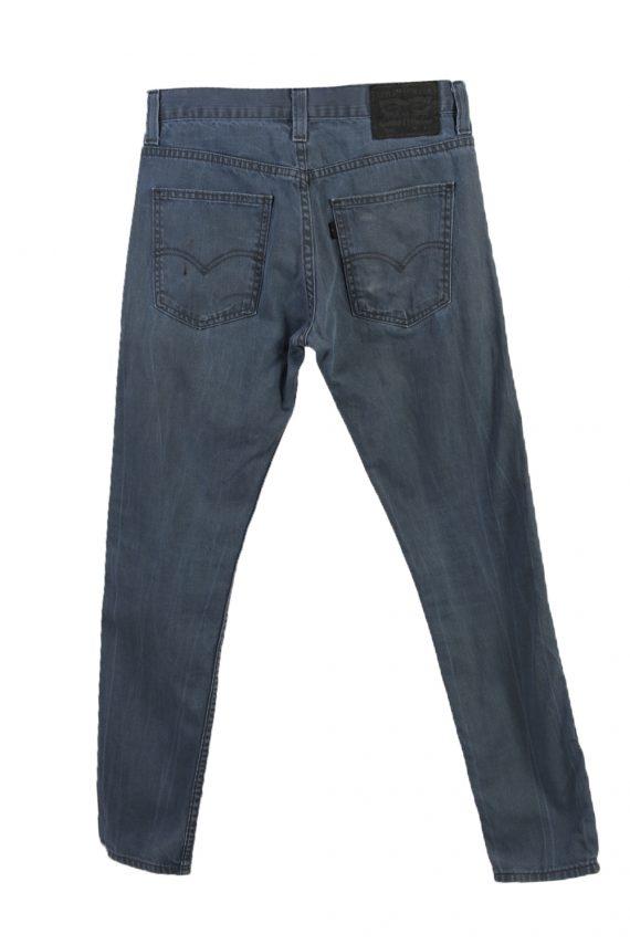 Vintage Levi's 520 Slim Fit Faded Women Jeans W29 L39 Blue J3703-89712