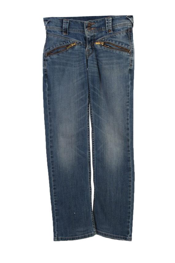 Vintage Levi's Slim Leg Faded Women Jeans W27 L32 Blue J3727-0