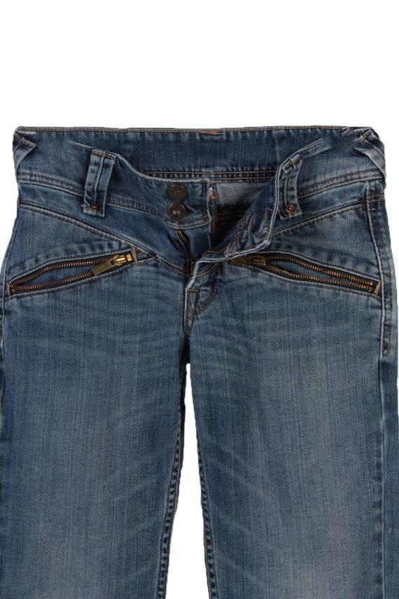 Vintage Levi's Slim Leg Faded Women Jeans W27 L32 Blue J3727-91240