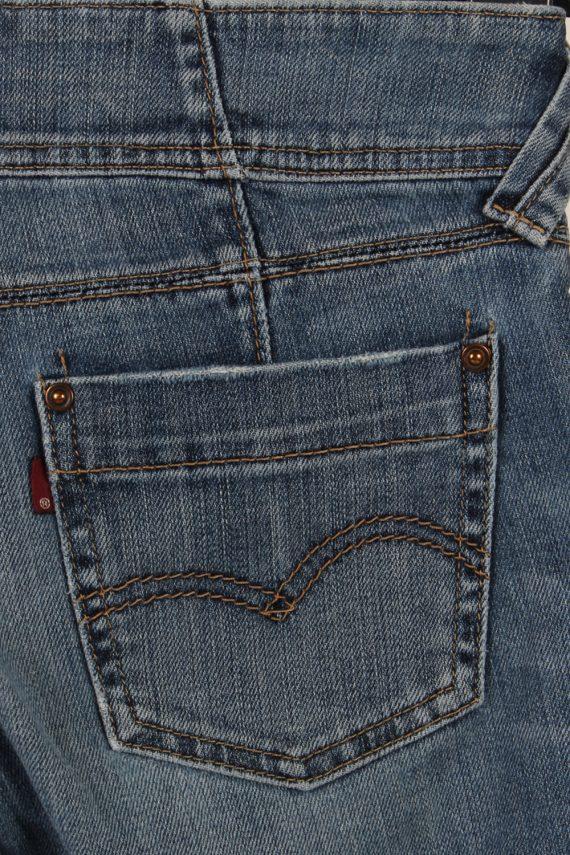 Vintage Levi's Slim Leg Faded Women Jeans W27 L32 Blue J3727-91242