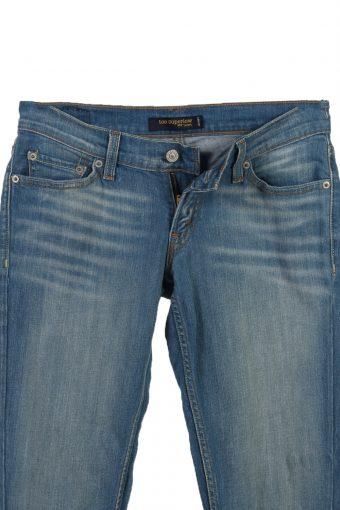 Vintage Levi's 524 Too Superlow Faded Women Jeans W30 L33 Blue J3730-91252