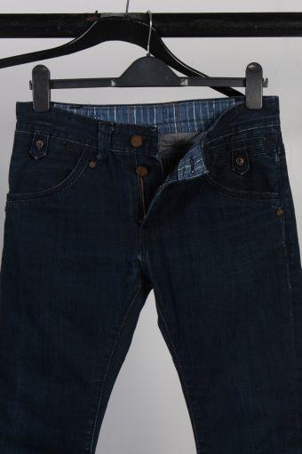 Vintage Levi's Skinny Legs Faded Unisex Jeans W32 L32 Navy J3741-91506