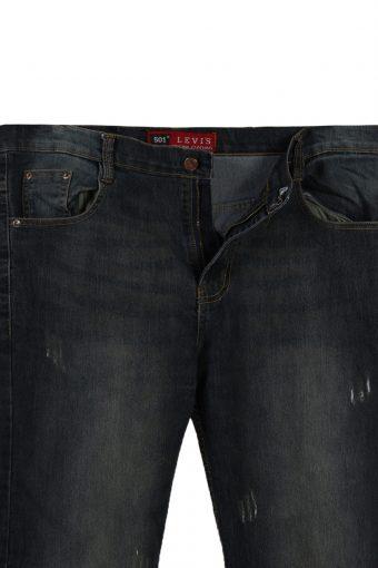 Vintage **RARE** Levis 501 Faded Unisex Jeans W38 L31 Navy J3742-91510