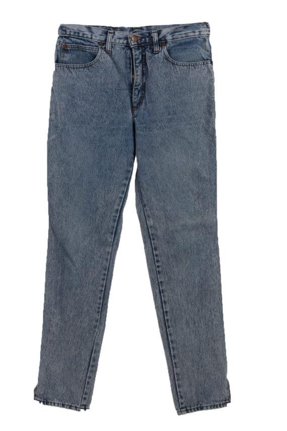 Vintage Outsider Skinny Faded Women Jeans W30 L33 Blue J3766-0