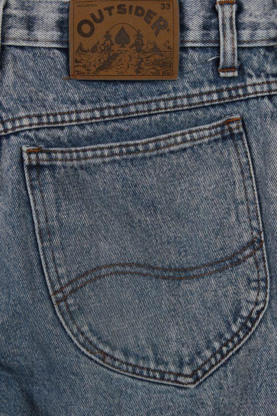 Vintage Outsider Skinny Faded Women Jeans W30 L33 Blue J3766-91608
