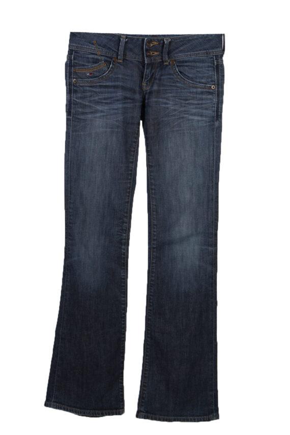 Vintage Hilfiger Denim Skinny Superlow Faded Women Jeans W30 L34 Blue J3767-0