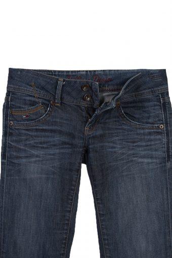 Vintage Hilfiger Denim Skinny Superlow Faded Women Jeans W30 L34 Blue J3767-91610