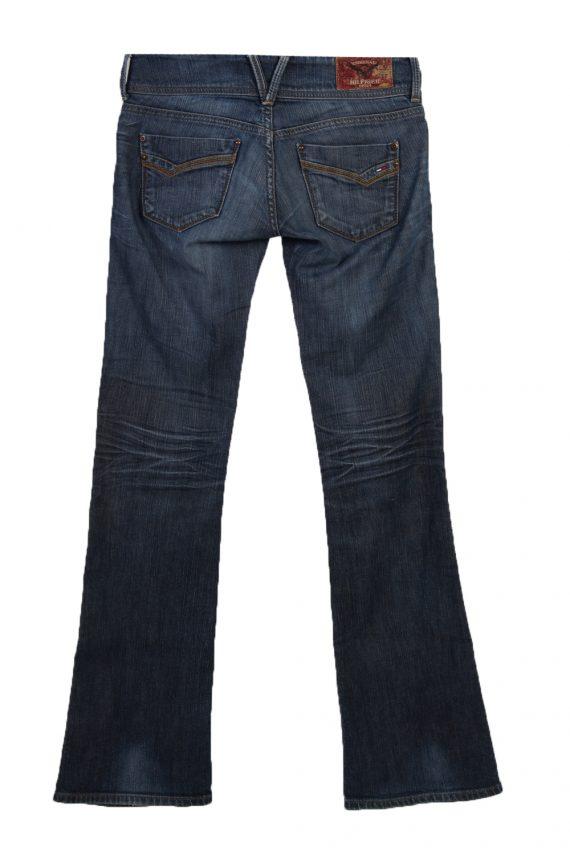 Vintage Hilfiger Denim Skinny Superlow Faded Women Jeans W30 L34 Blue J3767-91611