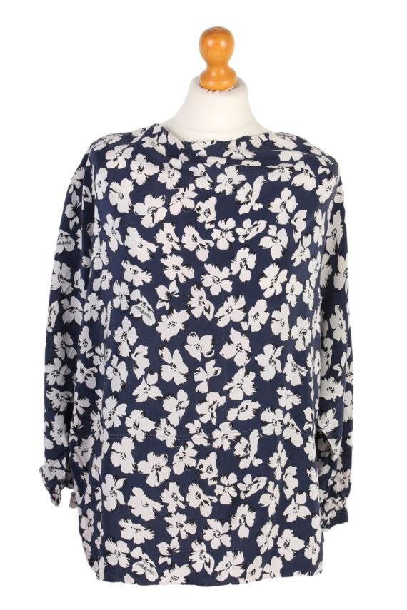 Vintage Sorelle Mazohetti Blouses Short Sleeve XL Multi LB102-0