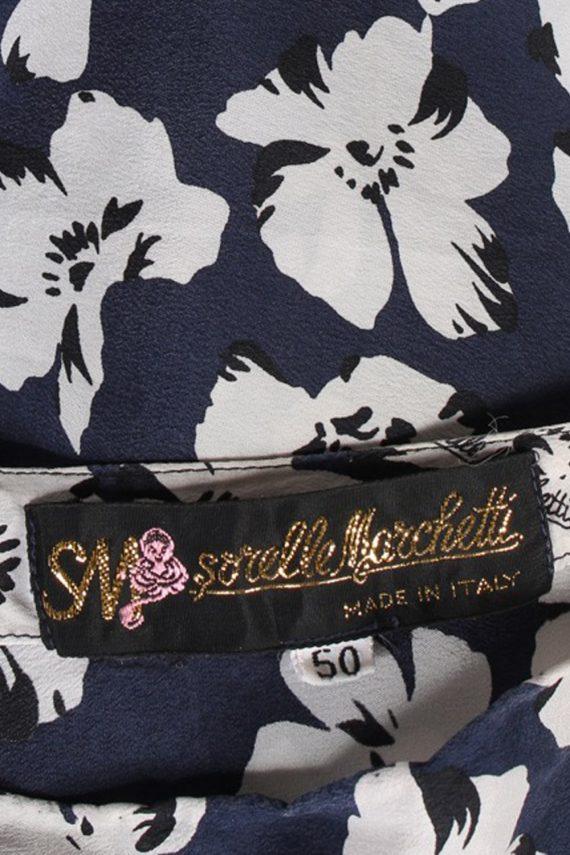 Vintage Sorelle Mazohetti Blouses Short Sleeve XL Multi LB102-87705