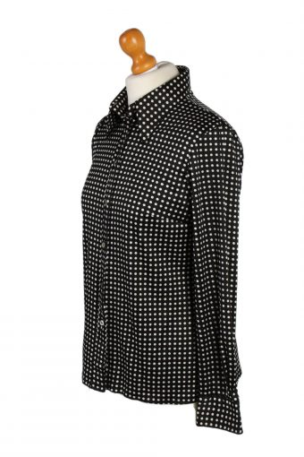 Vintage Frank Boys Shirt Long Sleeve XL Black LB120-87775