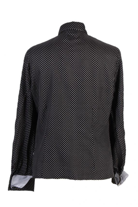 Vintage Unbranded Shirt Long Sleeve L/XL Black LB125-87796