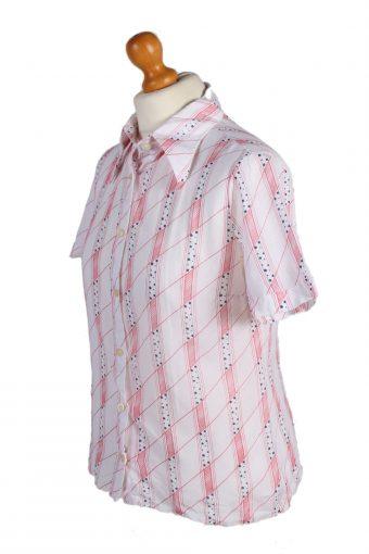 Vintage Marc Aurel Shirt Short Sleeve M/L White LB134-87831
