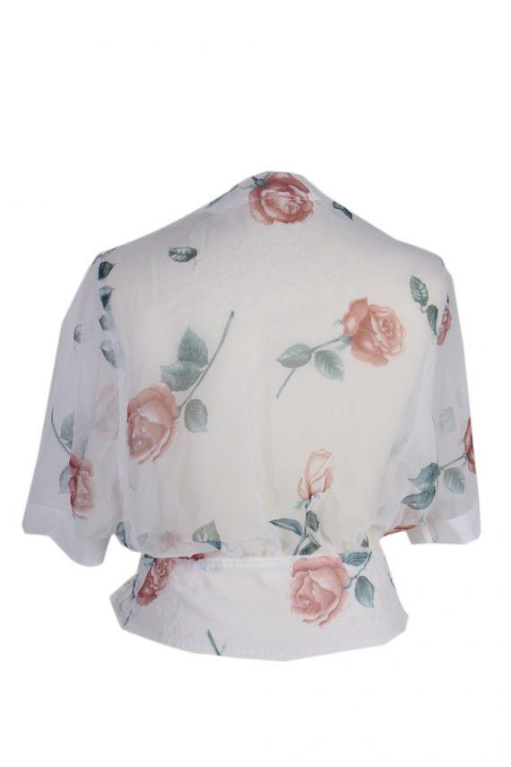 Vintage Cloe Shirt Short Sleeve L White LB141-87860