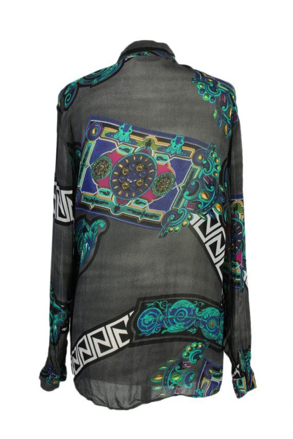 Vintage Modi & Mode Shirt Long Sleeve M/L Multi LB168-88300