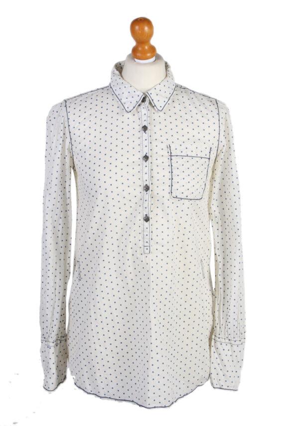 Vintage Heritage Hilfiger Denim Blouses Long Sleeve S White LB172-0