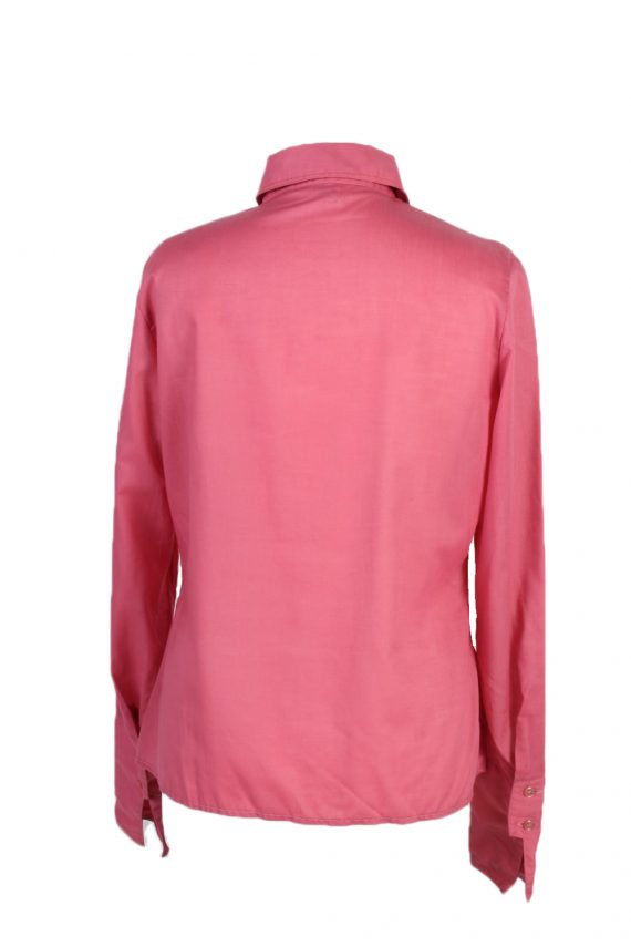 Vintage Dacron Shirt Long Sleeve L Pink LB175-88324