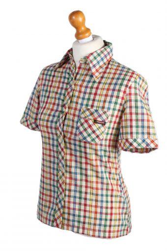 Vintage Palomino Shirt Short Sleeve S Multi LB176-88327