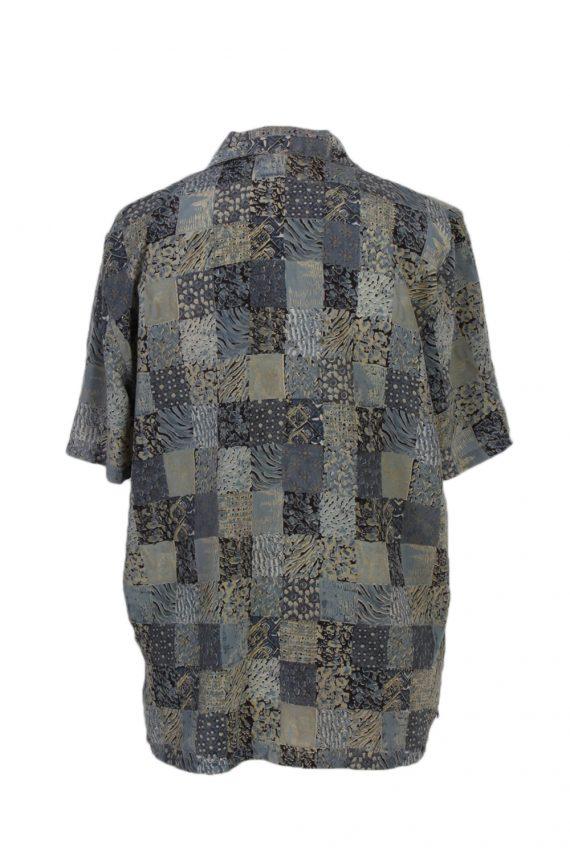 Vintage Madame Glaire Shirt Short Sleeve M Multi LB181-88348