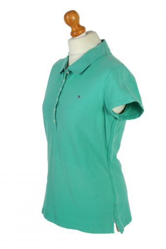 Vintage Tommy Hilfiger Polo Shirt Short Sleeve Tops L Mint -PT0995-89303